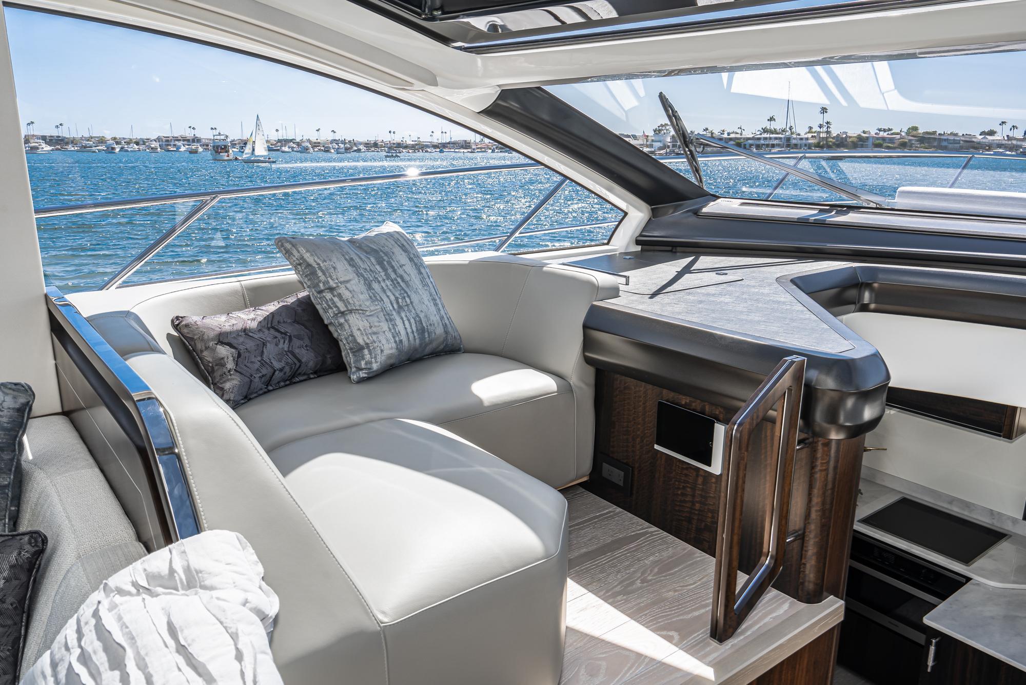 2021 Sunseeker Predator 55 EVO #SS504 inventory image at Sun Country Yachts in Newport Beach