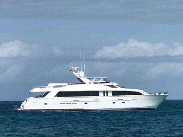 2003 100' Hatteras Motor Yacht