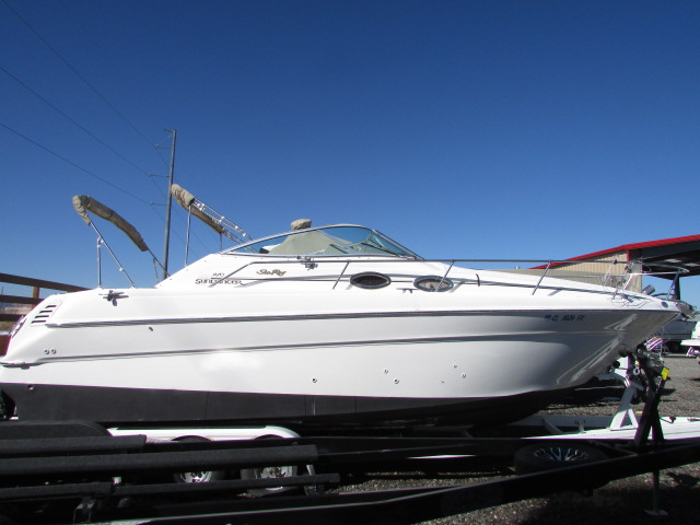 2001 Sea Ray boat for sale, model of the boat is 270 Sundancer & Image # 1 of 27