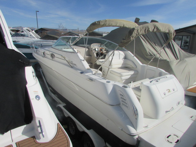 2001 Sea Ray boat for sale, model of the boat is 270 Sundancer & Image # 12 of 27