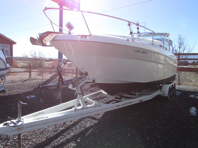 2001 Sea Ray boat for sale, model of the boat is 270 Sundancer & Image # 2 of 27