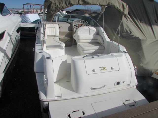 2001 Sea Ray boat for sale, model of the boat is 270 Sundancer & Image # 25 of 27