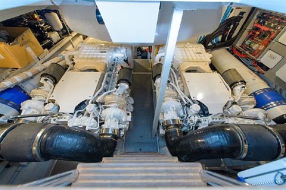 2014 Riva 63 Virtus - Engine Room