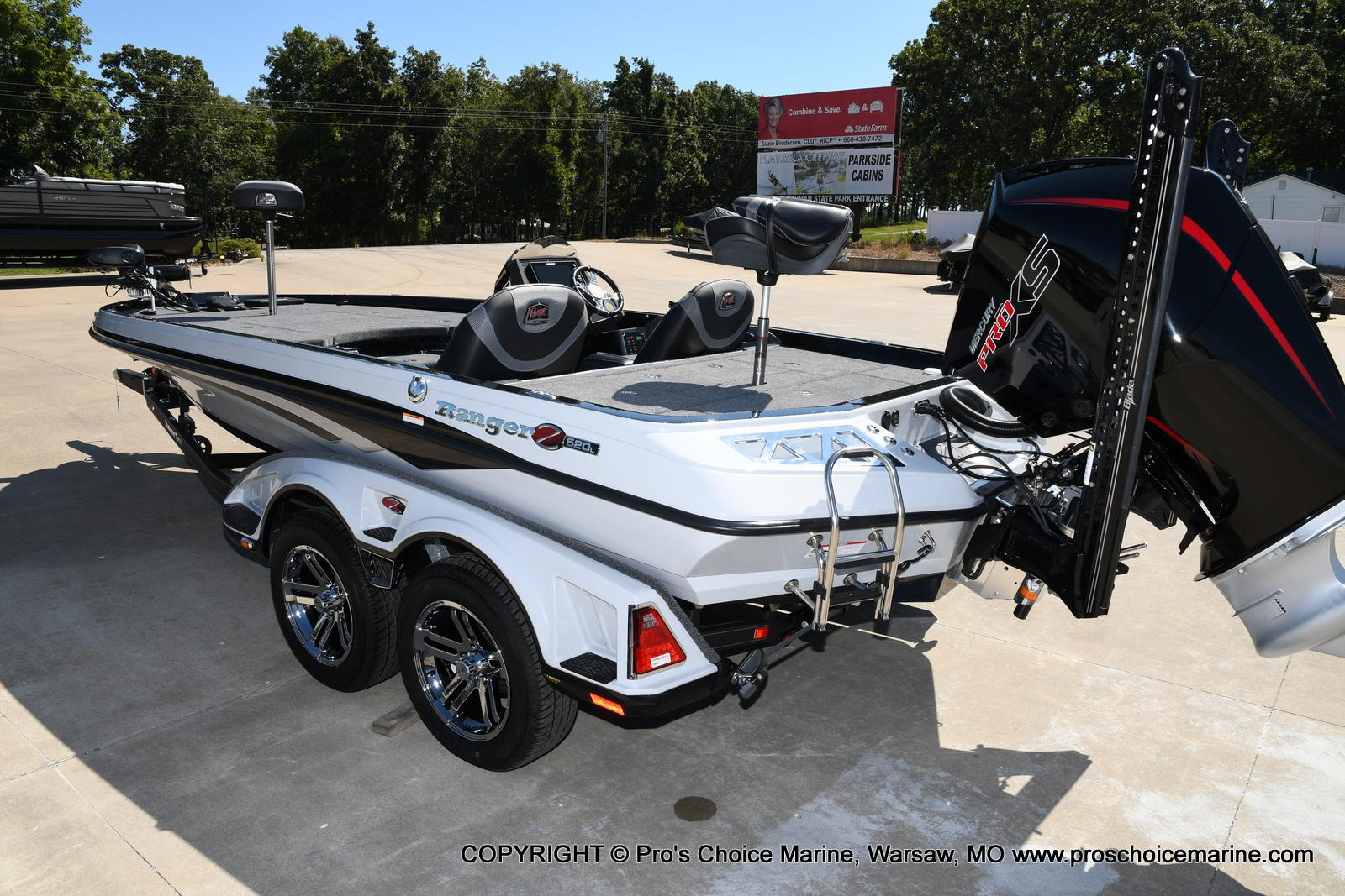2021 Ranger Boats boat for sale, model of the boat is Z520L HUMMINBIRD EDITION & Image # 4 of 50
