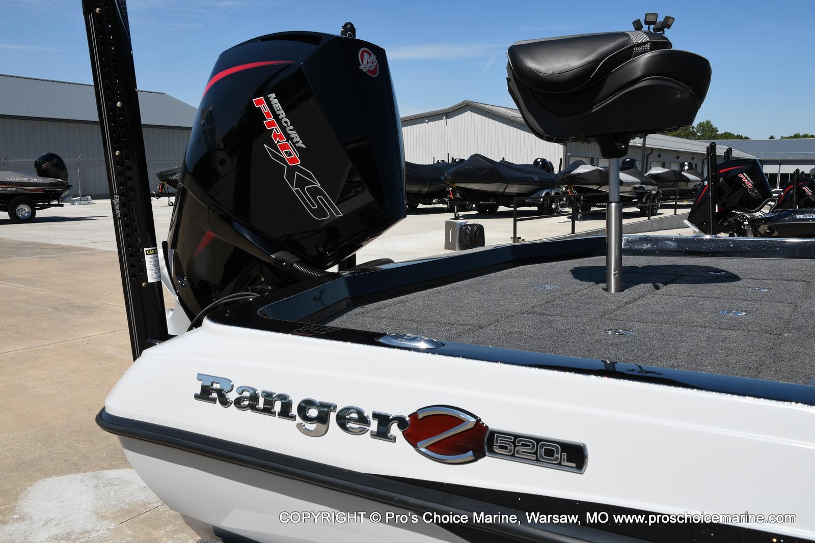 2021 Ranger Boats boat for sale, model of the boat is Z520L HUMMINBIRD EDITION & Image # 14 of 50