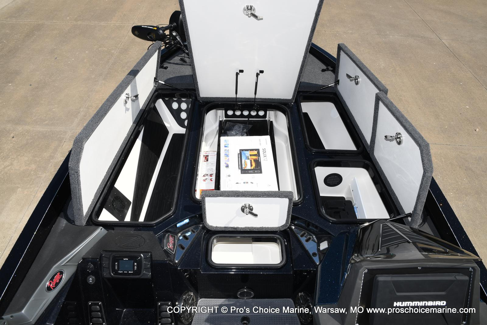 2021 Ranger Boats boat for sale, model of the boat is Z520L HUMMINBIRD EDITION & Image # 22 of 50