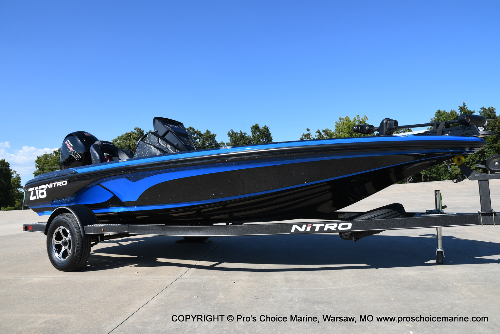 2021 Nitro boat for sale, model of the boat is Z18 & Image # 44 of 50