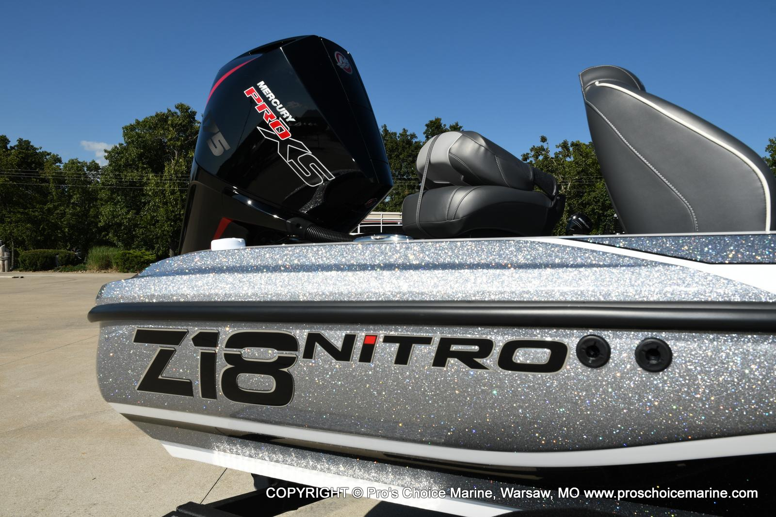 2021 Nitro boat for sale, model of the boat is Z18 w/175HP Pro-XS & Image # 10 of 50