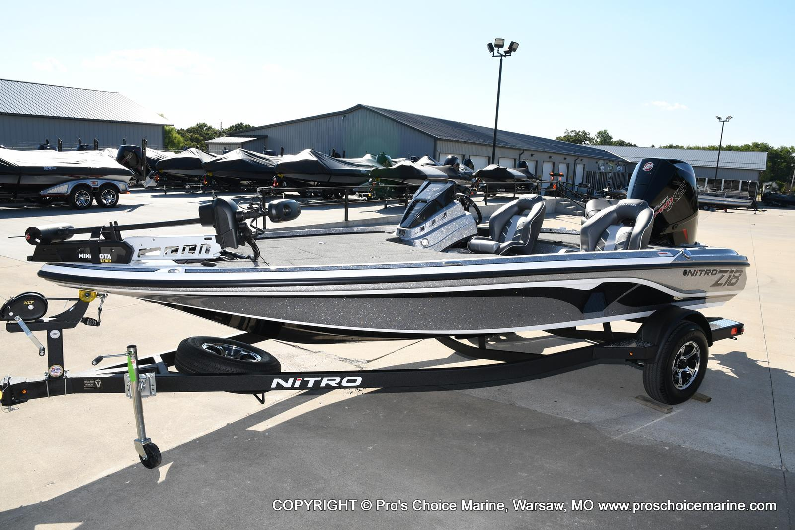 2021 Nitro boat for sale, model of the boat is Z18 w/175HP Pro-XS & Image # 5 of 50