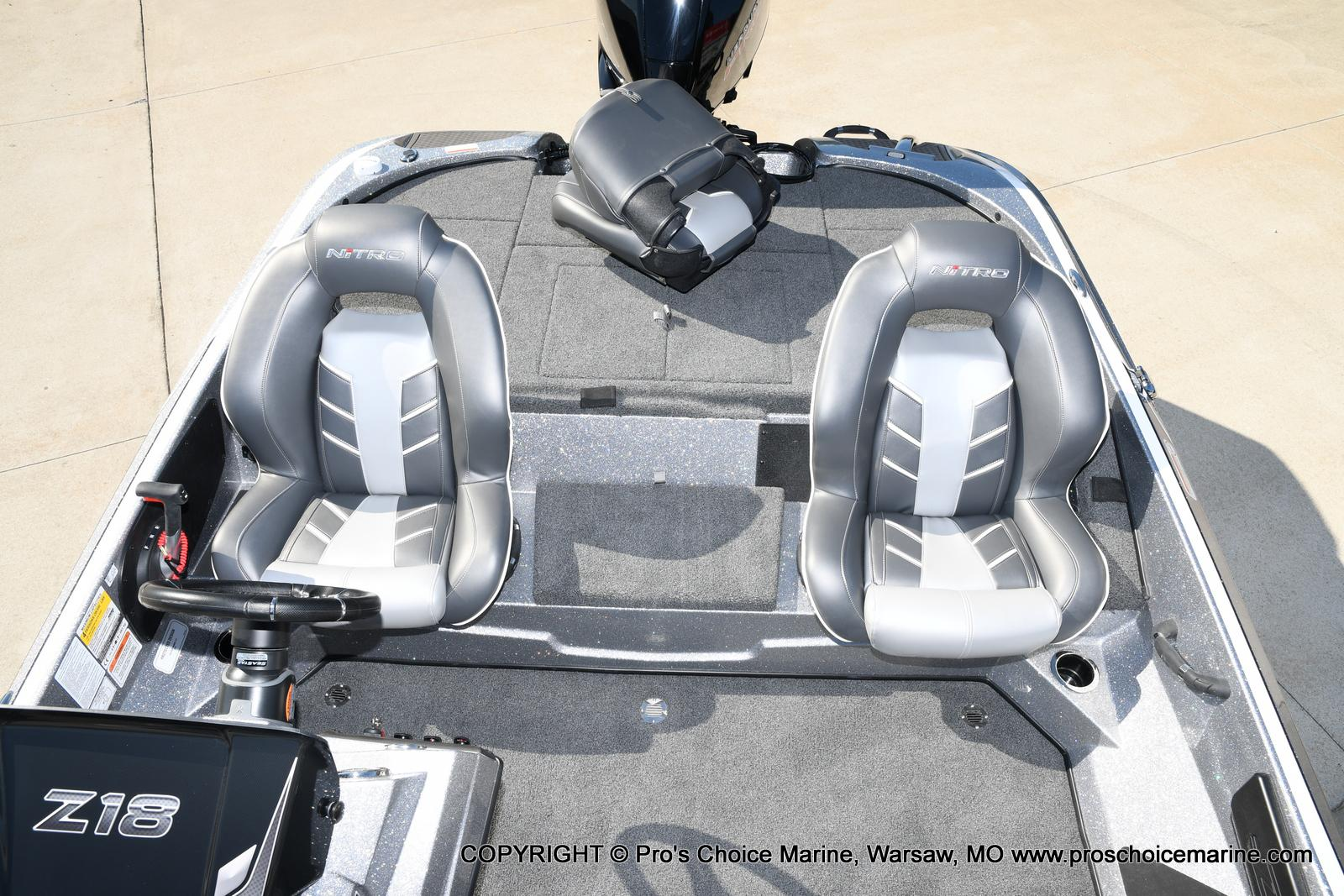 2021 Nitro boat for sale, model of the boat is Z18 w/175HP Pro-XS & Image # 9 of 50