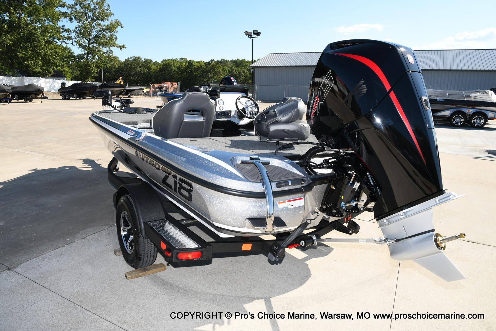 2021 Nitro boat for sale, model of the boat is Z18 w/175HP Pro-XS & Image # 41 of 50