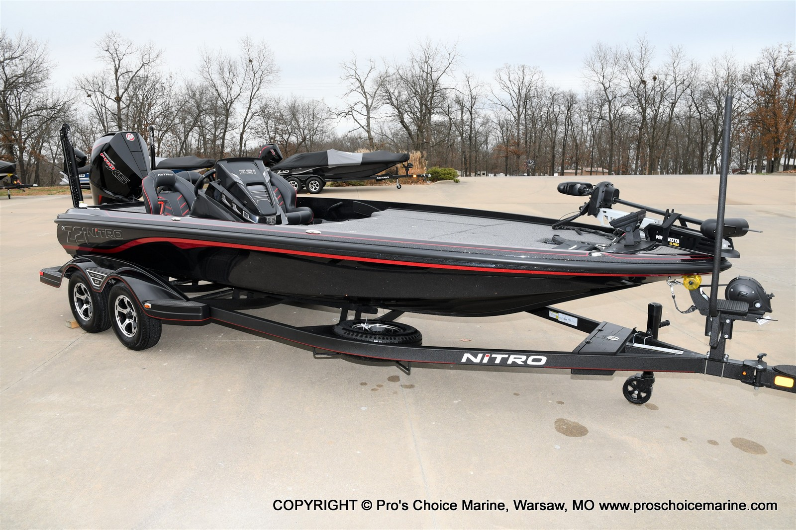 2021 Nitro boat for sale, model of the boat is Z21 Pro Package & Image # 1 of 21