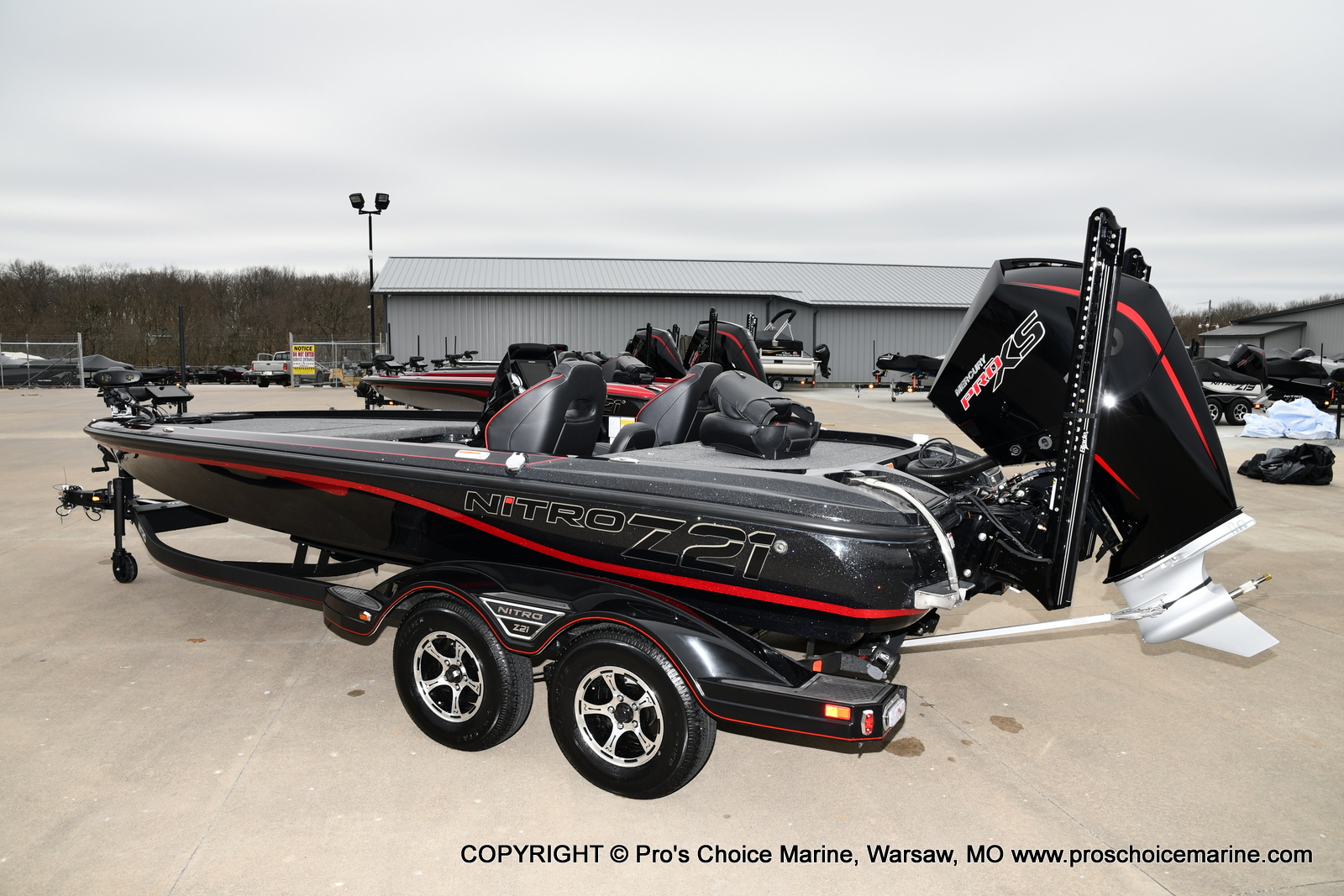 2021 Nitro boat for sale, model of the boat is Z21 Pro Package & Image # 11 of 21