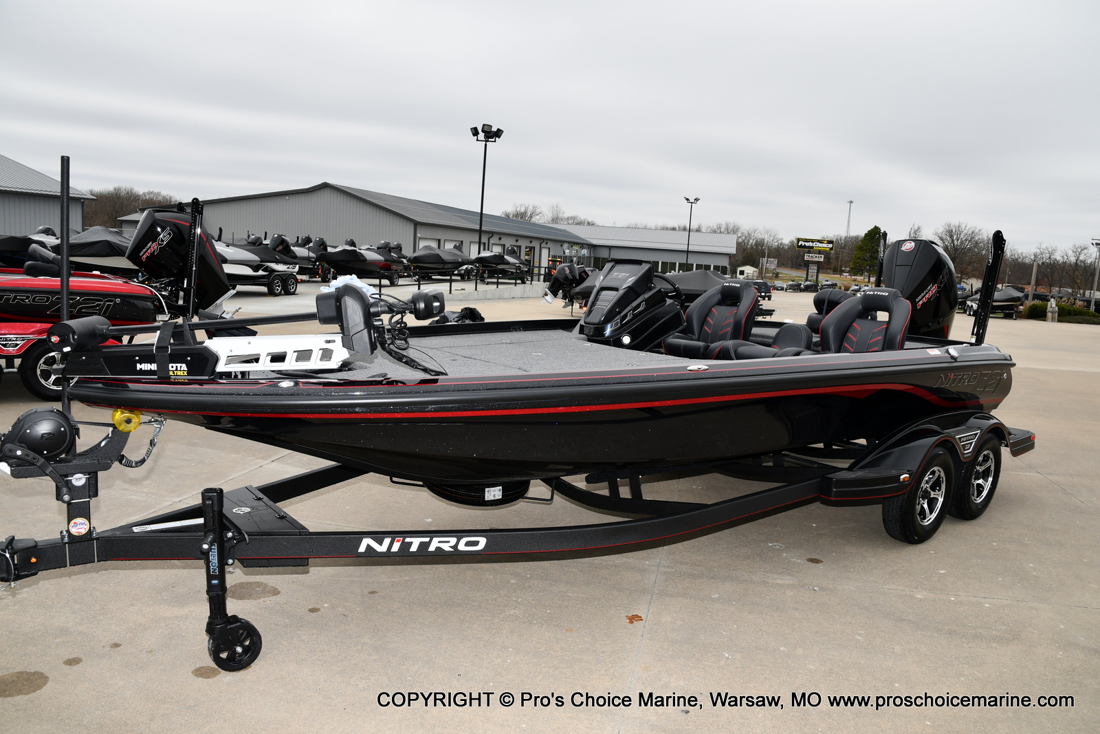 2021 Nitro boat for sale, model of the boat is Z21 Pro Package & Image # 12 of 21