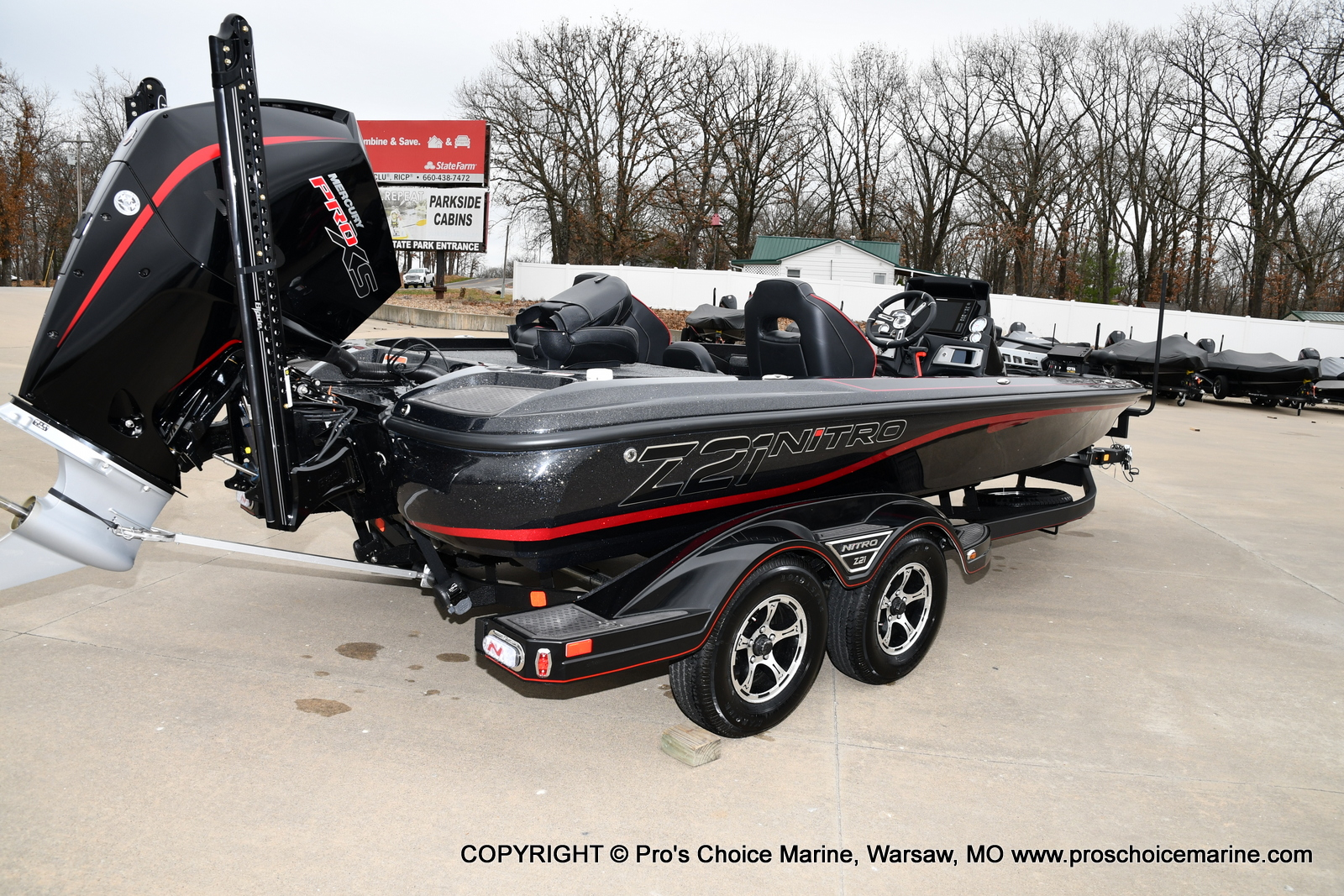 2021 Nitro boat for sale, model of the boat is Z21 Pro Package & Image # 14 of 21