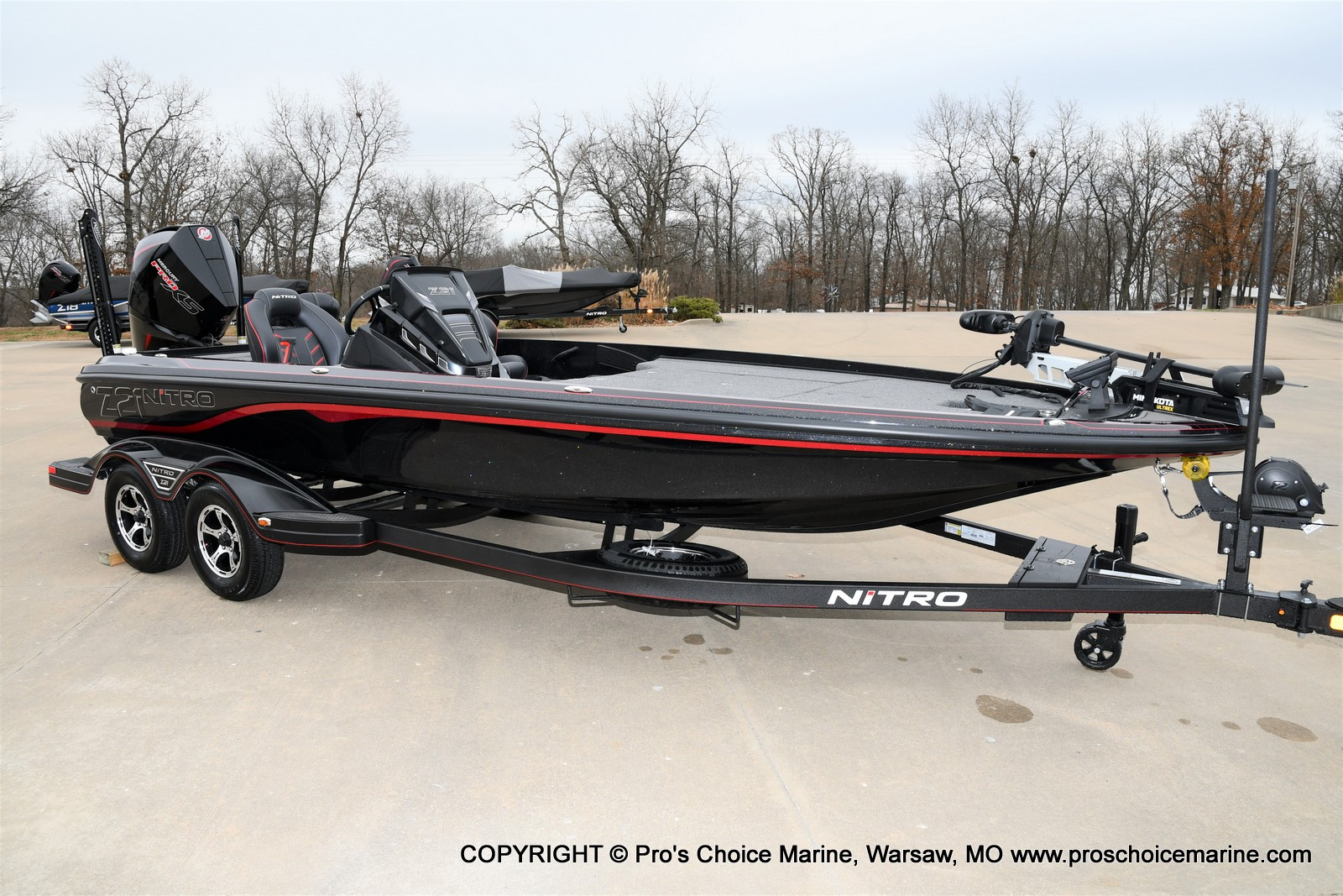 2021 Nitro boat for sale, model of the boat is Z21 Pro Package & Image # 16 of 21