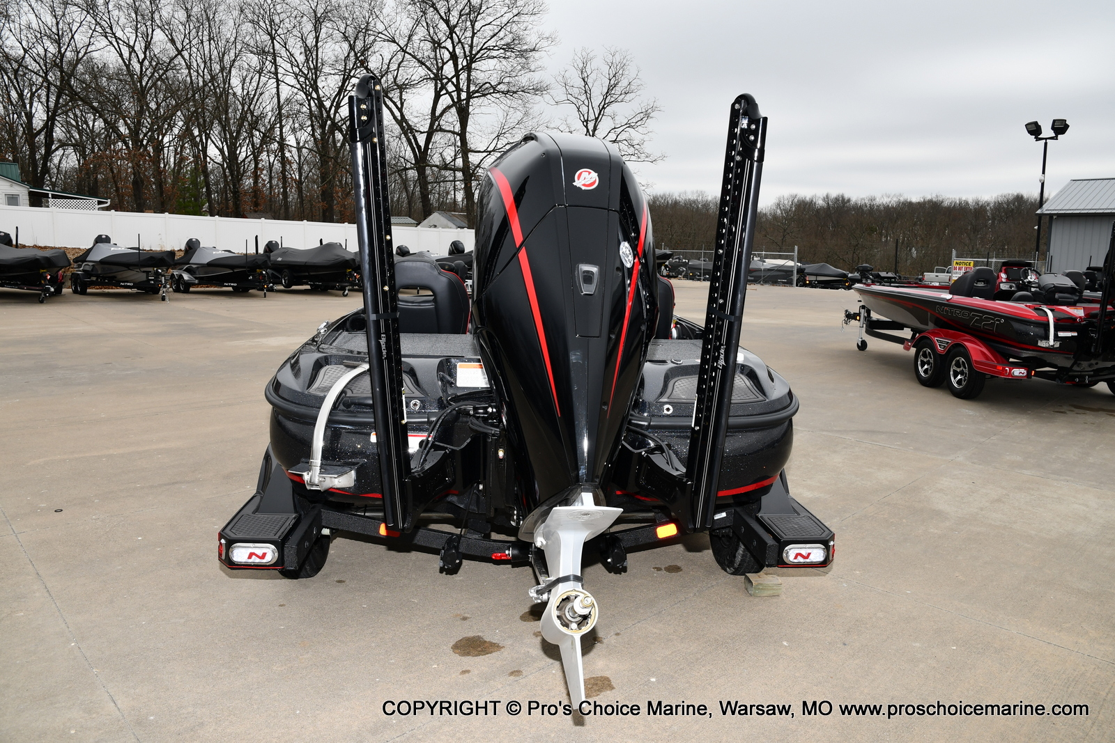 2021 Nitro boat for sale, model of the boat is Z21 Pro Package & Image # 17 of 21