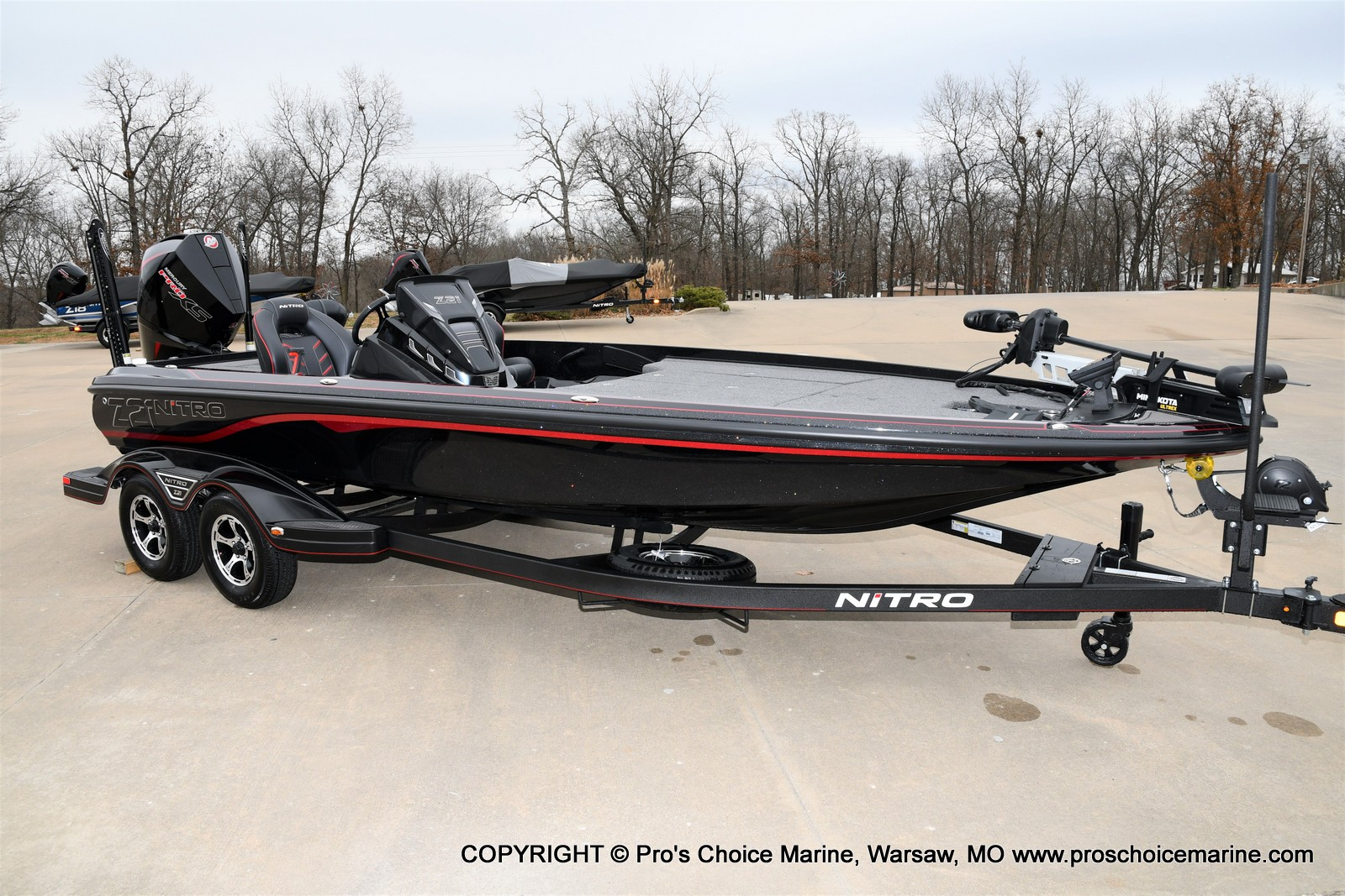 2021 Nitro boat for sale, model of the boat is Z21 Pro Package & Image # 19 of 21