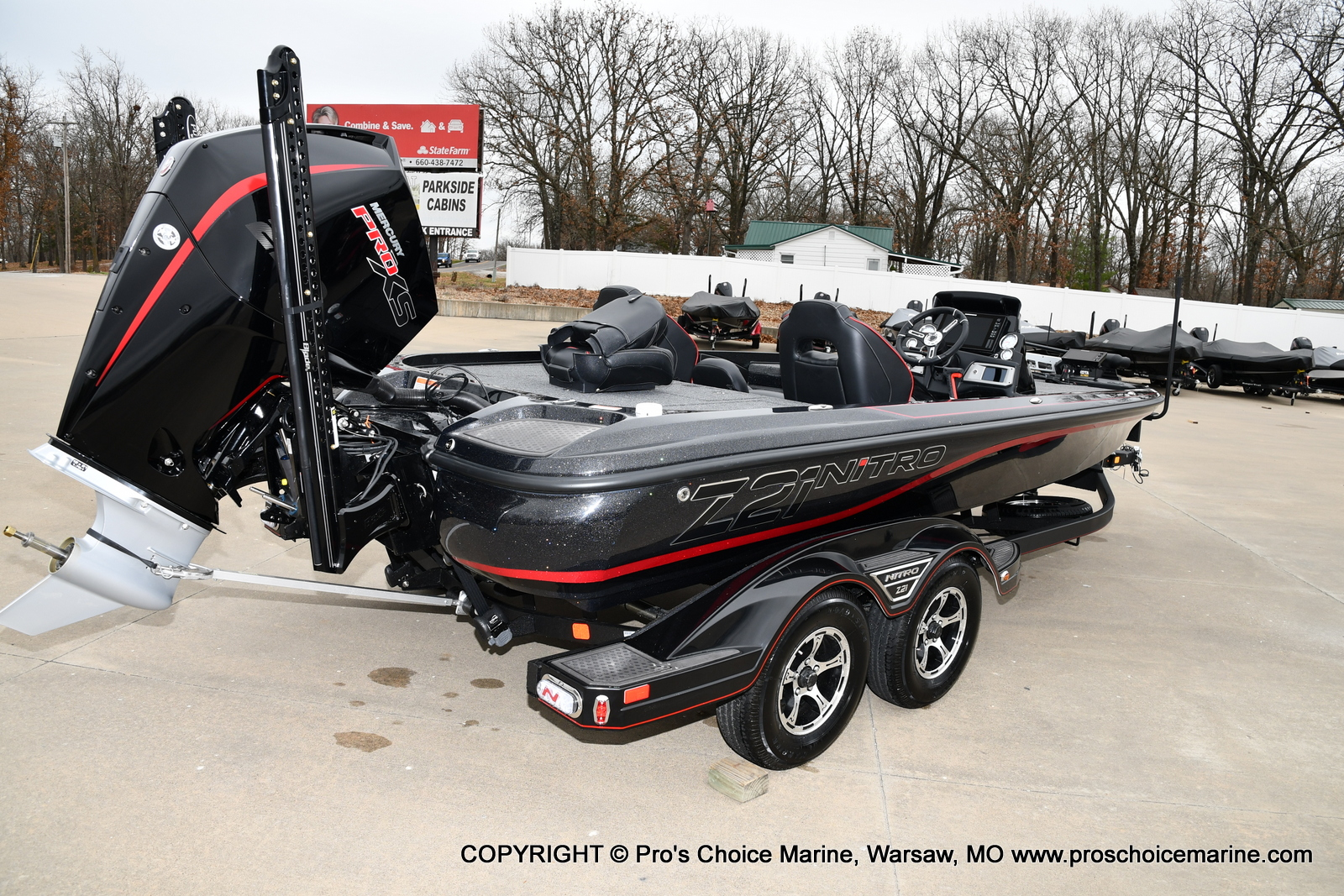 2021 Nitro boat for sale, model of the boat is Z21 Pro Package & Image # 3 of 21