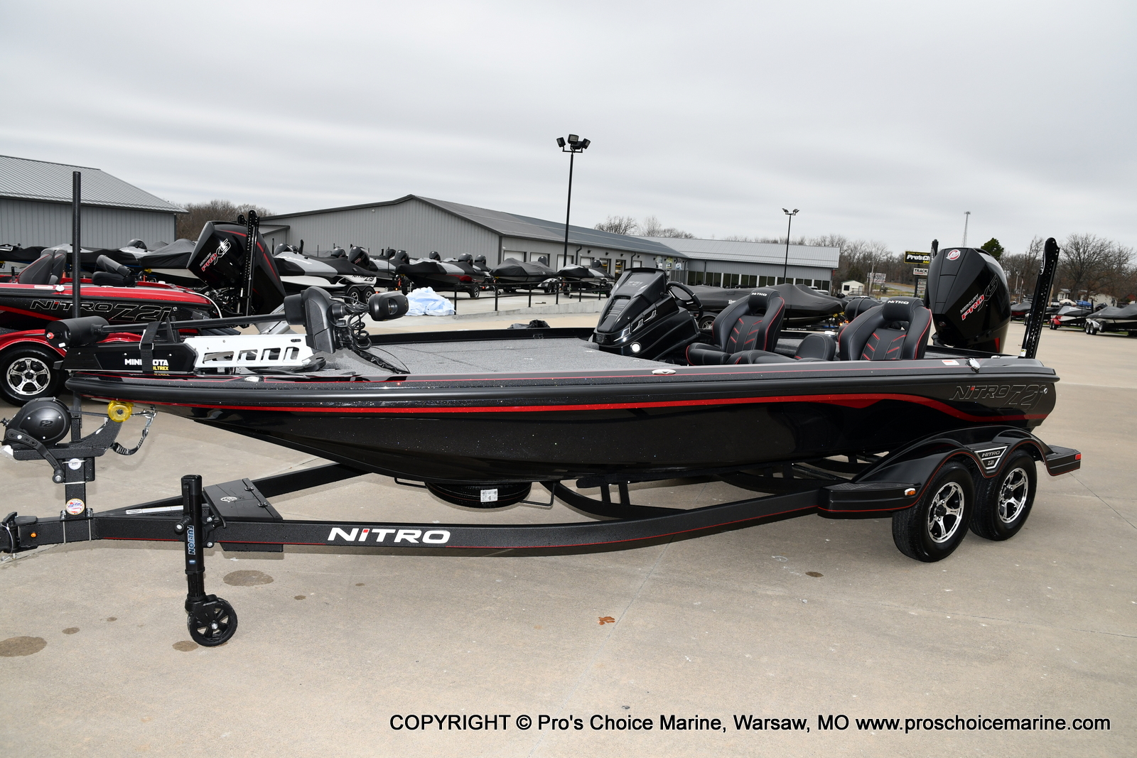 2021 Nitro boat for sale, model of the boat is Z21 Pro Package & Image # 4 of 21