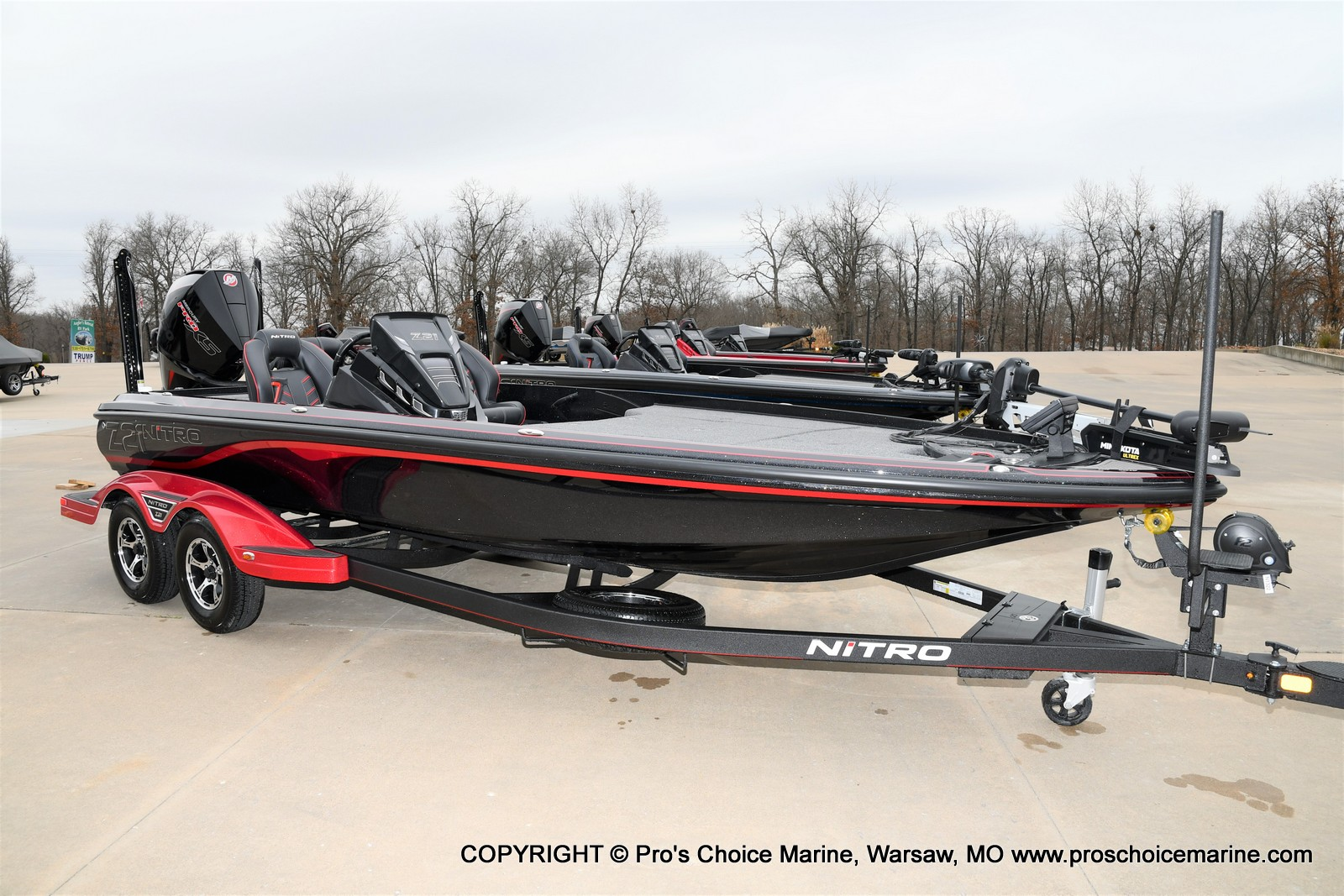 2021 Nitro boat for sale, model of the boat is Z21 Pro Package & Image # 1 of 23