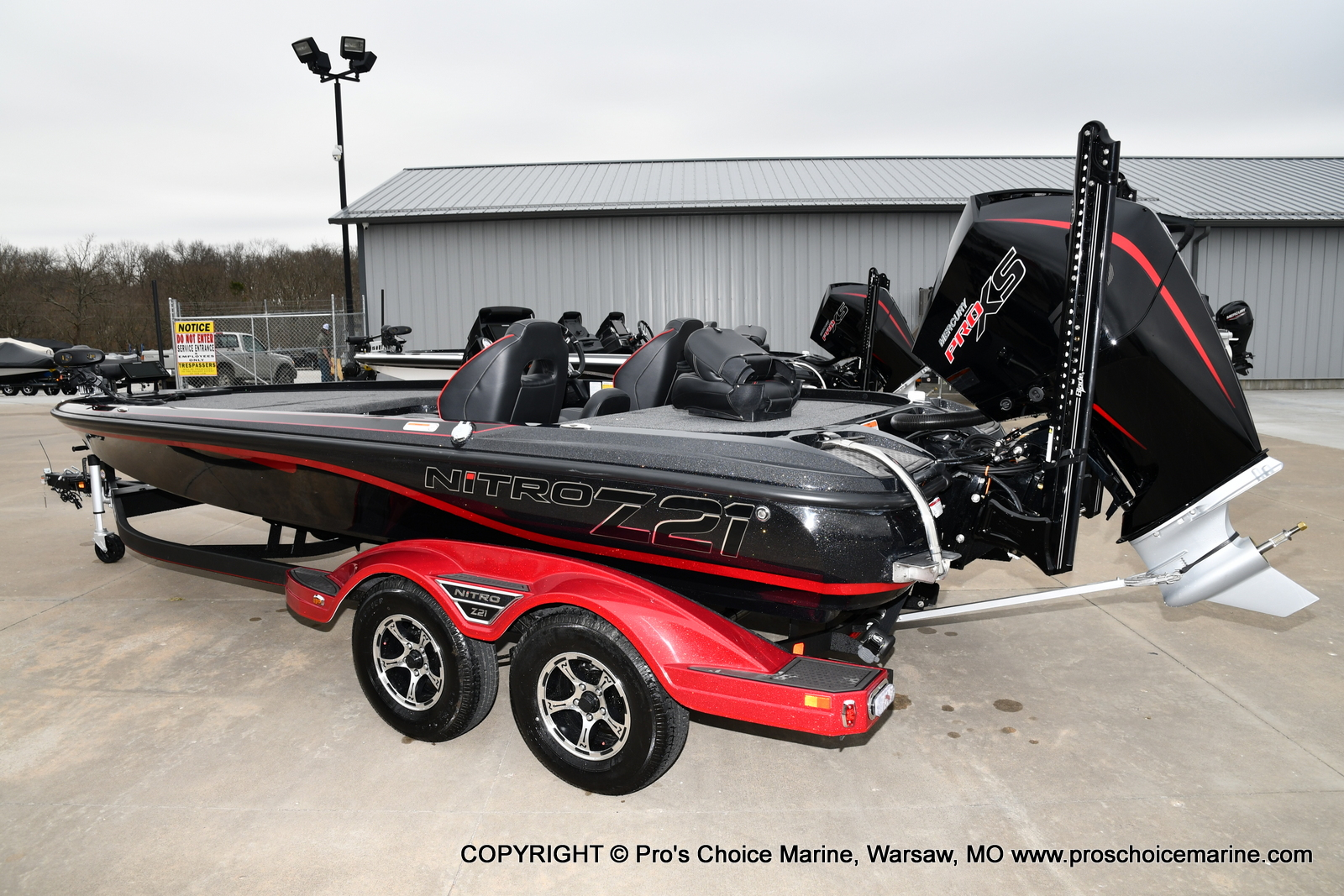 2021 Nitro boat for sale, model of the boat is Z21 Pro Package & Image # 11 of 23
