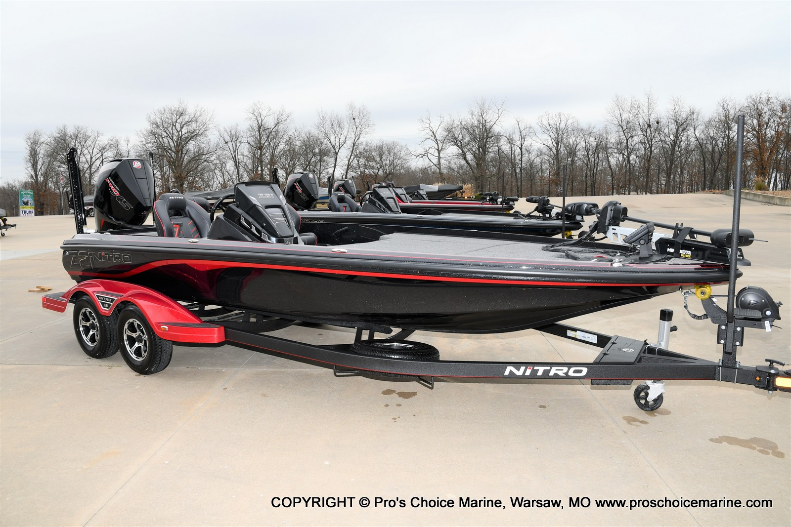 2021 Nitro boat for sale, model of the boat is Z21 Pro Package & Image # 13 of 23