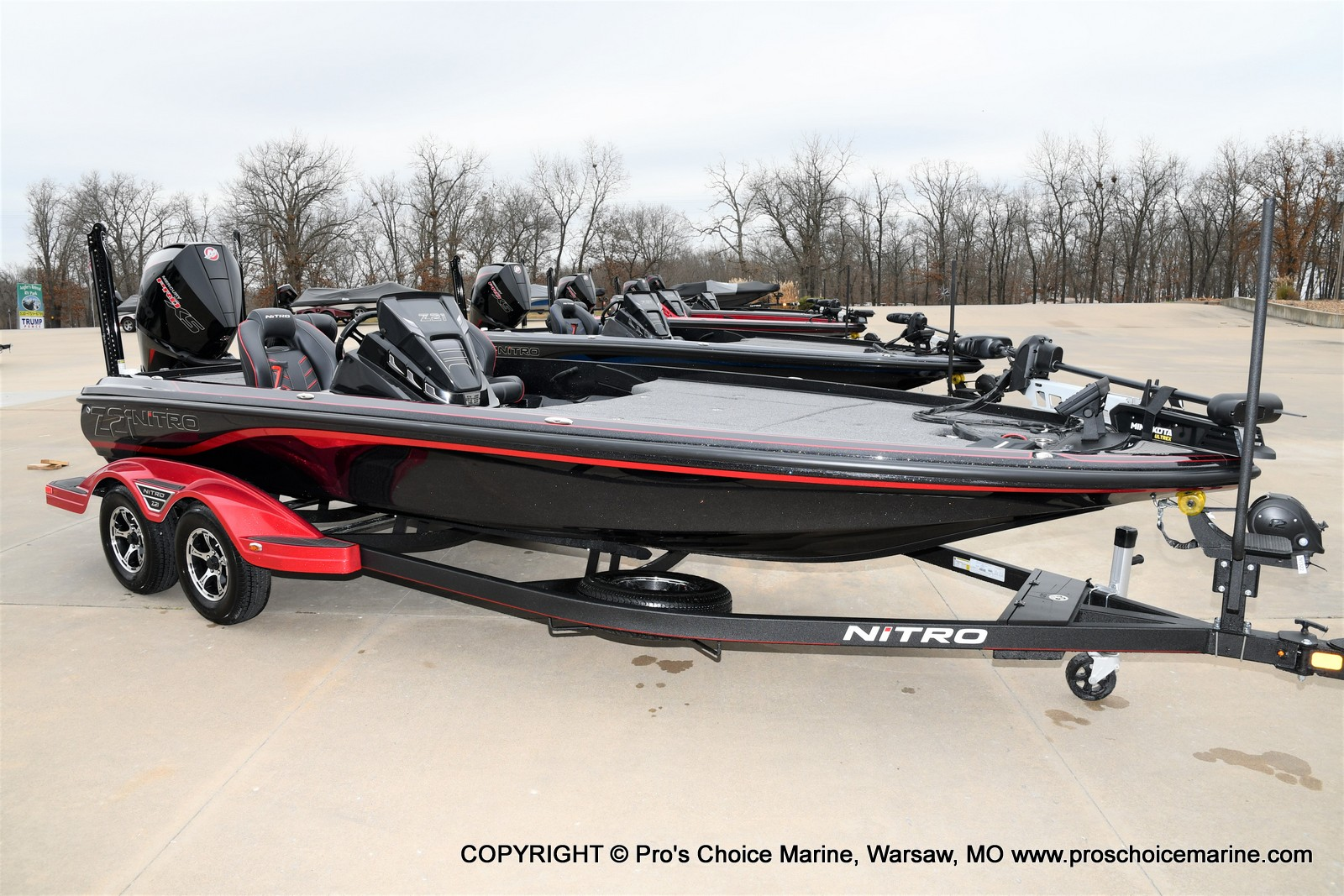 2021 Nitro boat for sale, model of the boat is Z21 Pro Package & Image # 14 of 23