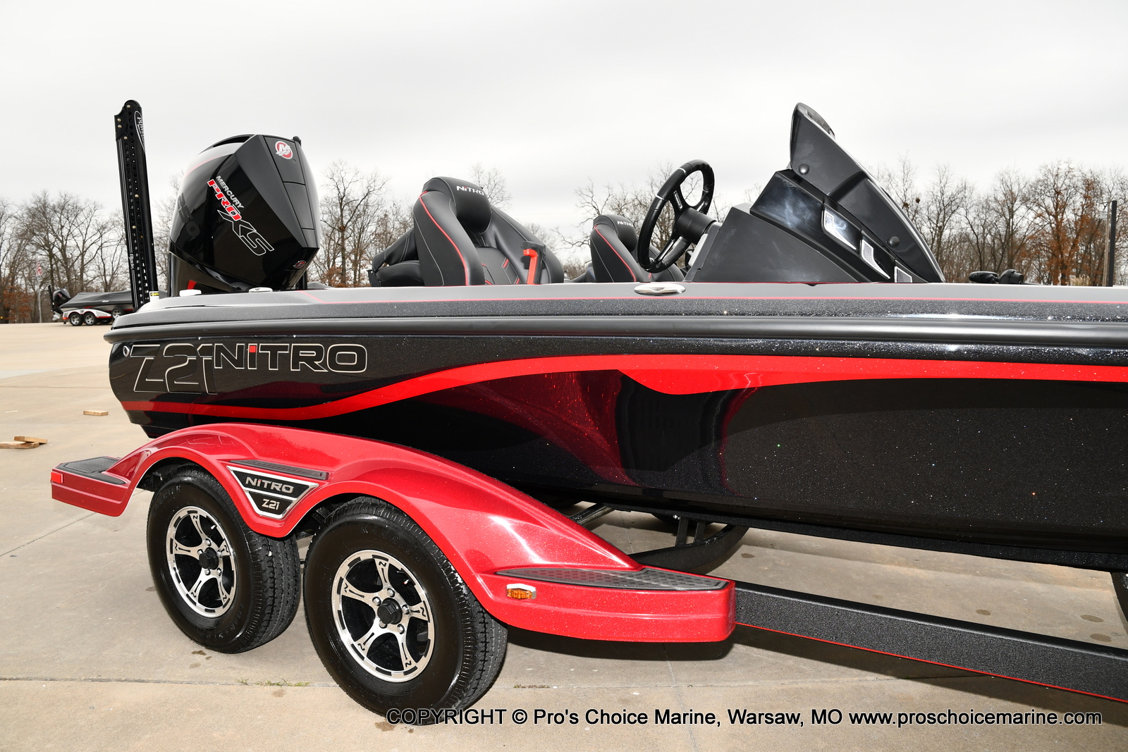 2021 Nitro boat for sale, model of the boat is Z21 Pro Package & Image # 15 of 23