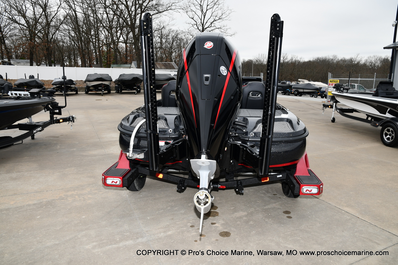 2021 Nitro boat for sale, model of the boat is Z21 Pro Package & Image # 16 of 23