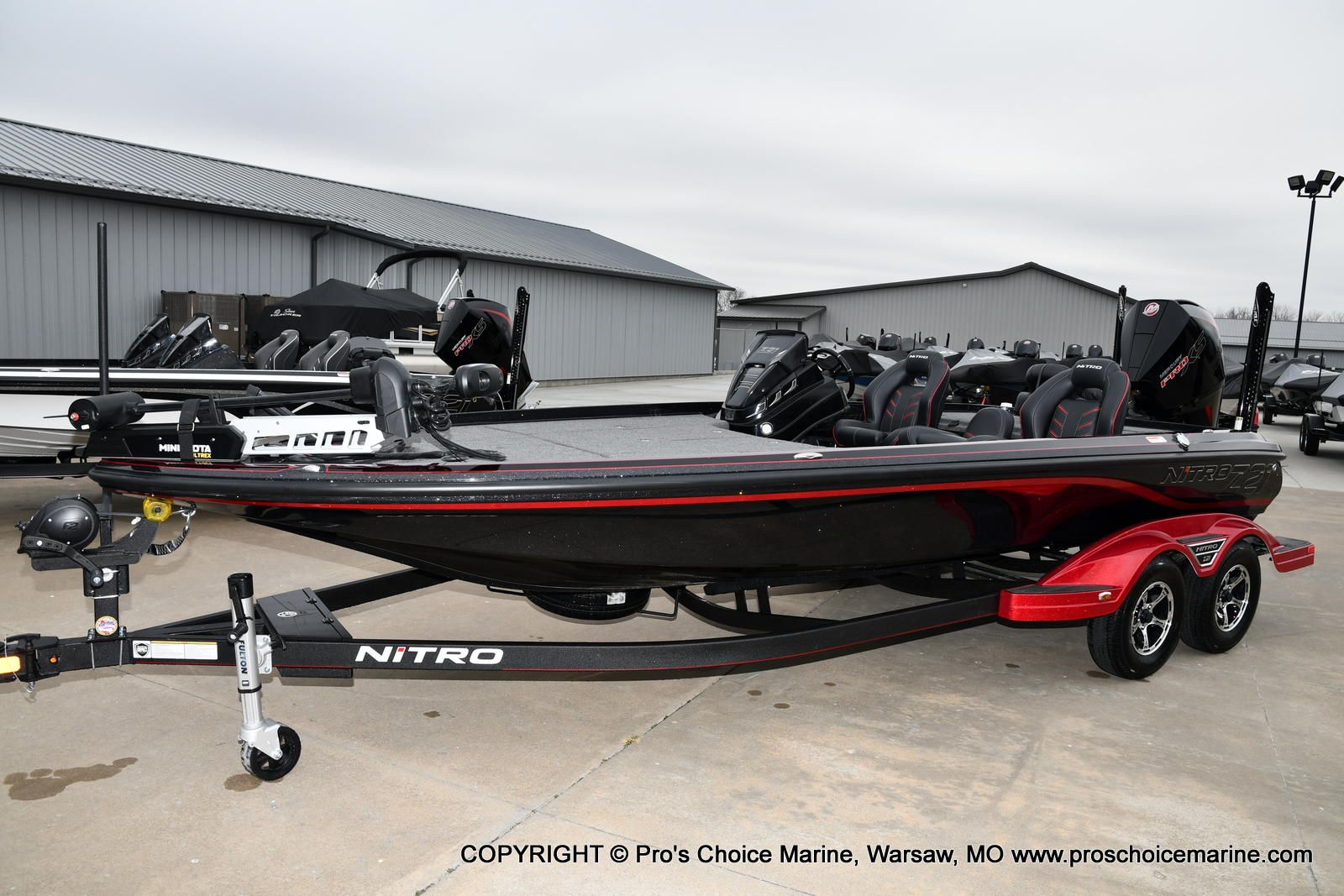 2021 Nitro boat for sale, model of the boat is Z21 Pro Package & Image # 17 of 23