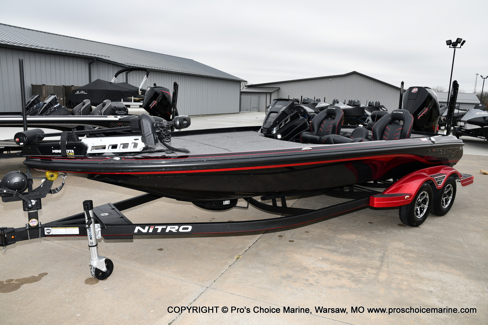 2021 Nitro boat for sale, model of the boat is Z21 Pro Package & Image # 18 of 23
