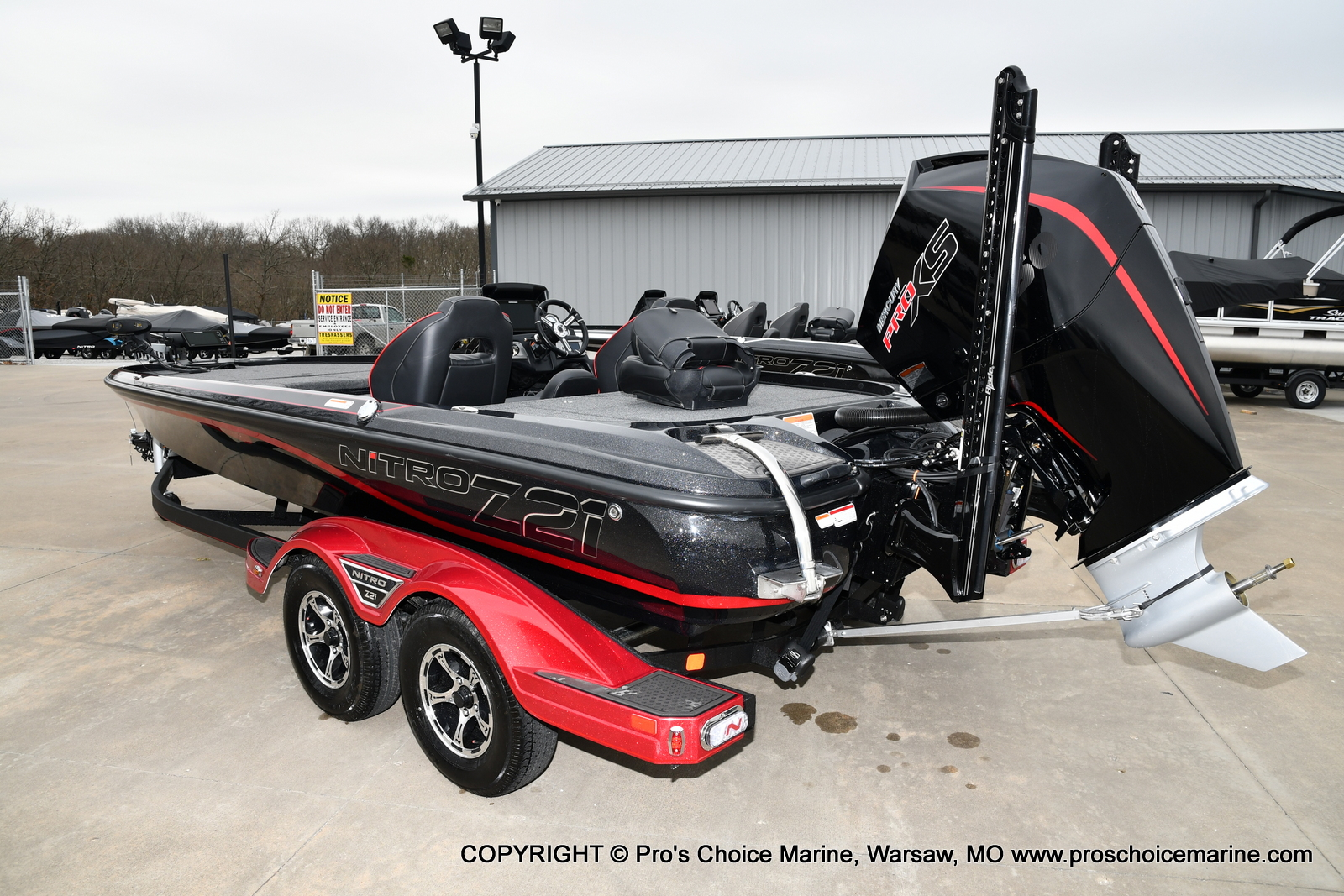 2021 Nitro boat for sale, model of the boat is Z21 Pro Package & Image # 2 of 23