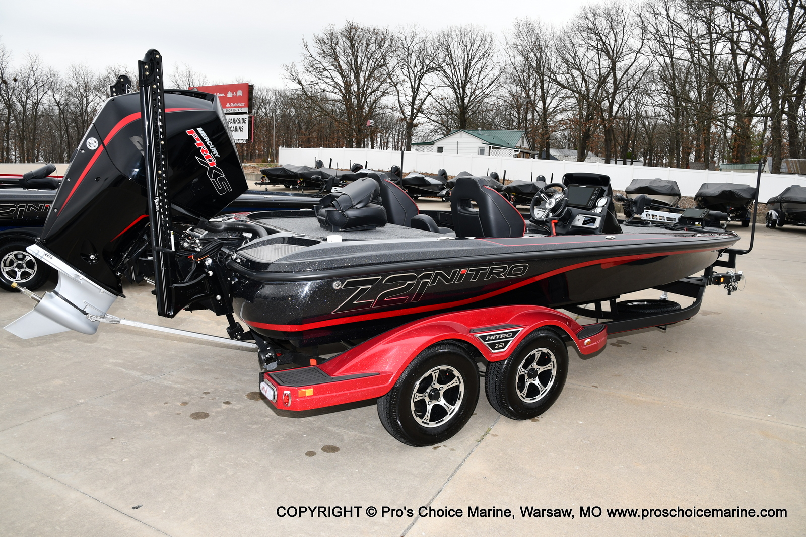 2021 Nitro boat for sale, model of the boat is Z21 Pro Package & Image # 5 of 23