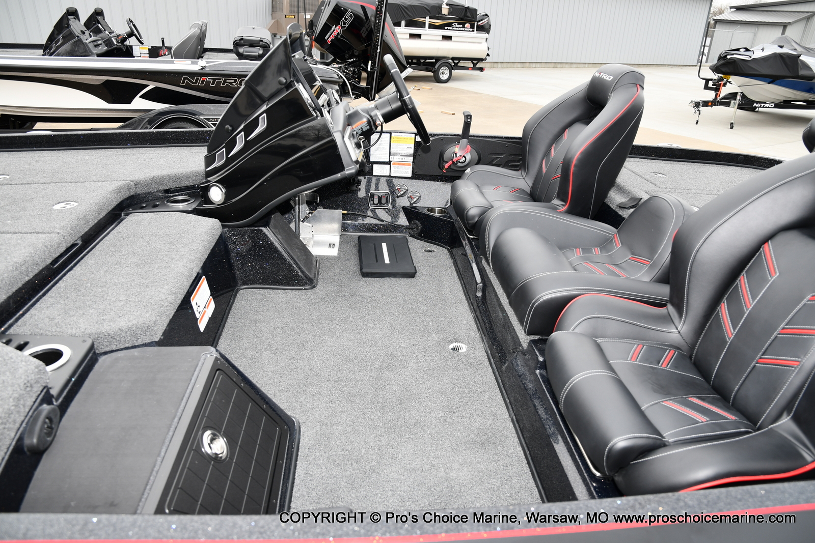 2021 Nitro boat for sale, model of the boat is Z21 Pro Package & Image # 7 of 23