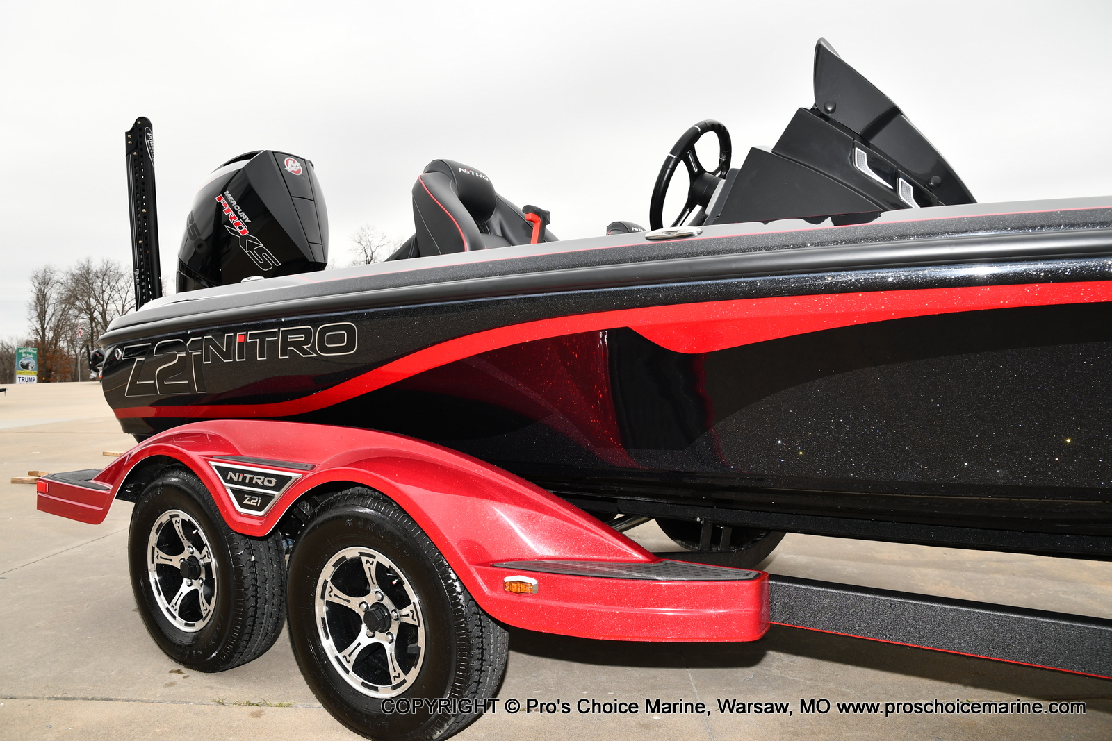 2021 Nitro boat for sale, model of the boat is Z21 Pro Package & Image # 8 of 23