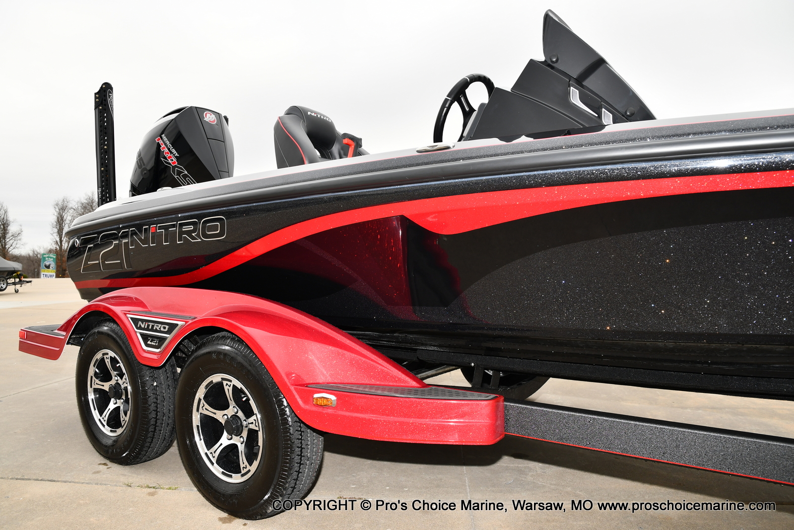 2021 Nitro boat for sale, model of the boat is Z21 Pro Package & Image # 9 of 23