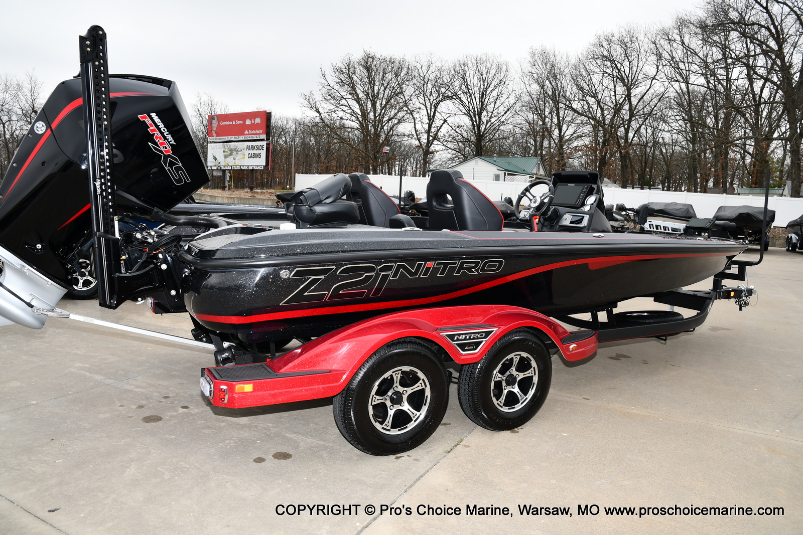 2021 Nitro boat for sale, model of the boat is Z21 Pro Package & Image # 10 of 23