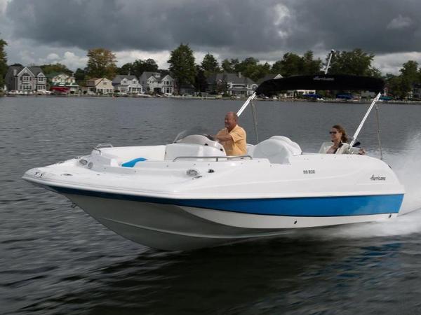 2021 Hurricane boat for sale, model of the boat is SunDeck Sport 192 OB & Image # 1 of 1