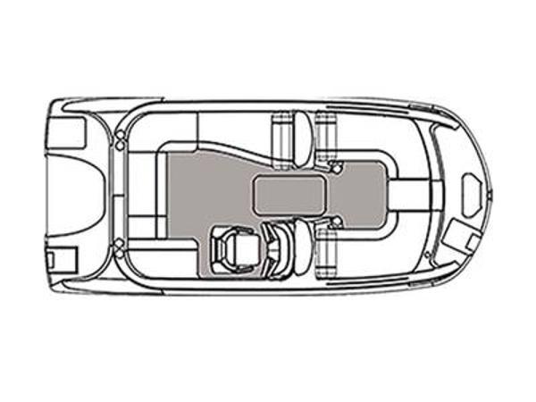 2021 Hurricane boat for sale, model of the boat is SunDeck Sport 192 RL OB & Image # 1 of 1