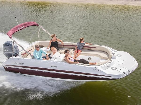 2021 Hurricane boat for sale, model of the boat is SunDeck Sport 201 OB & Image # 1 of 1