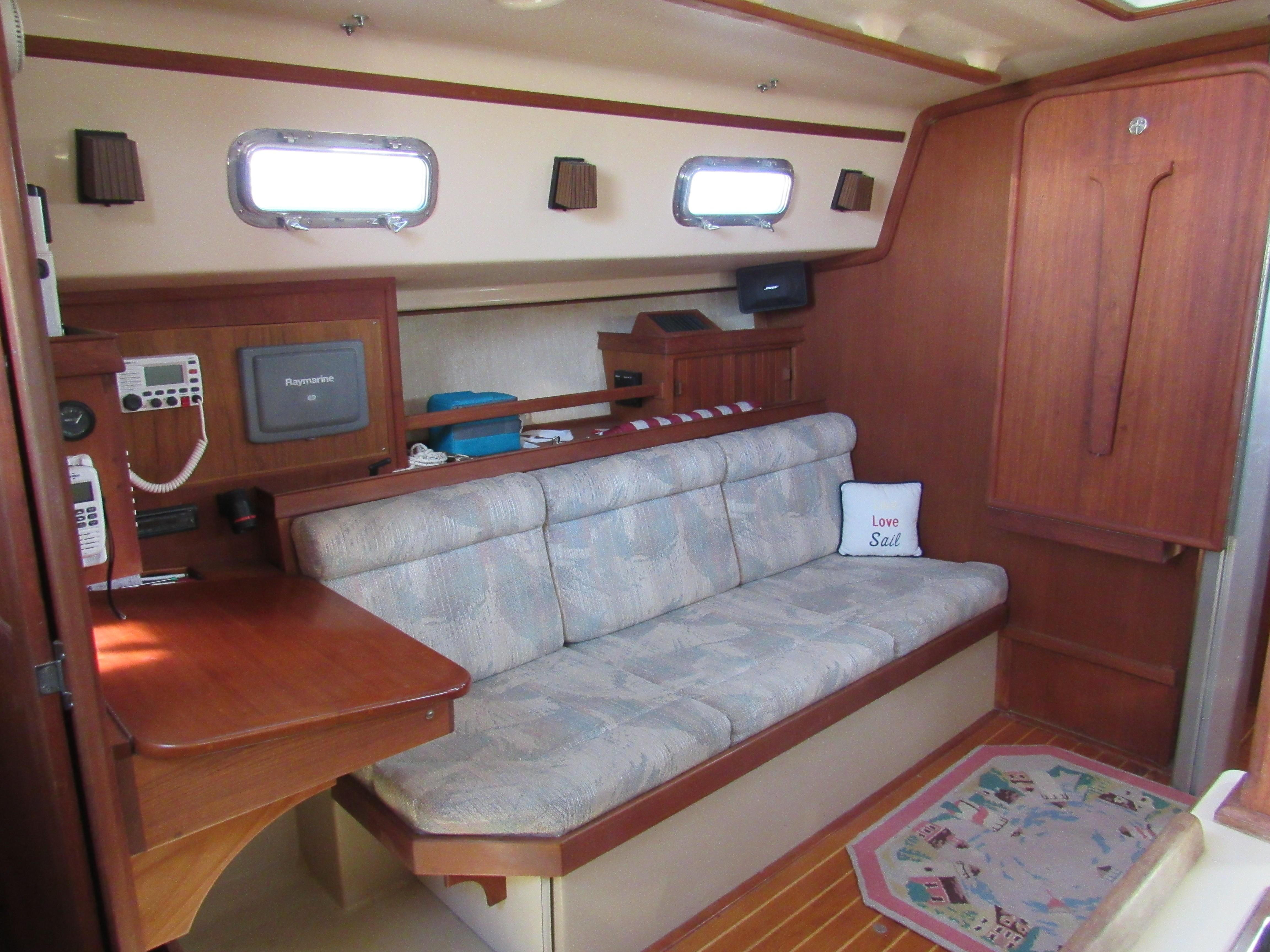 Nav Desk and Port Settee