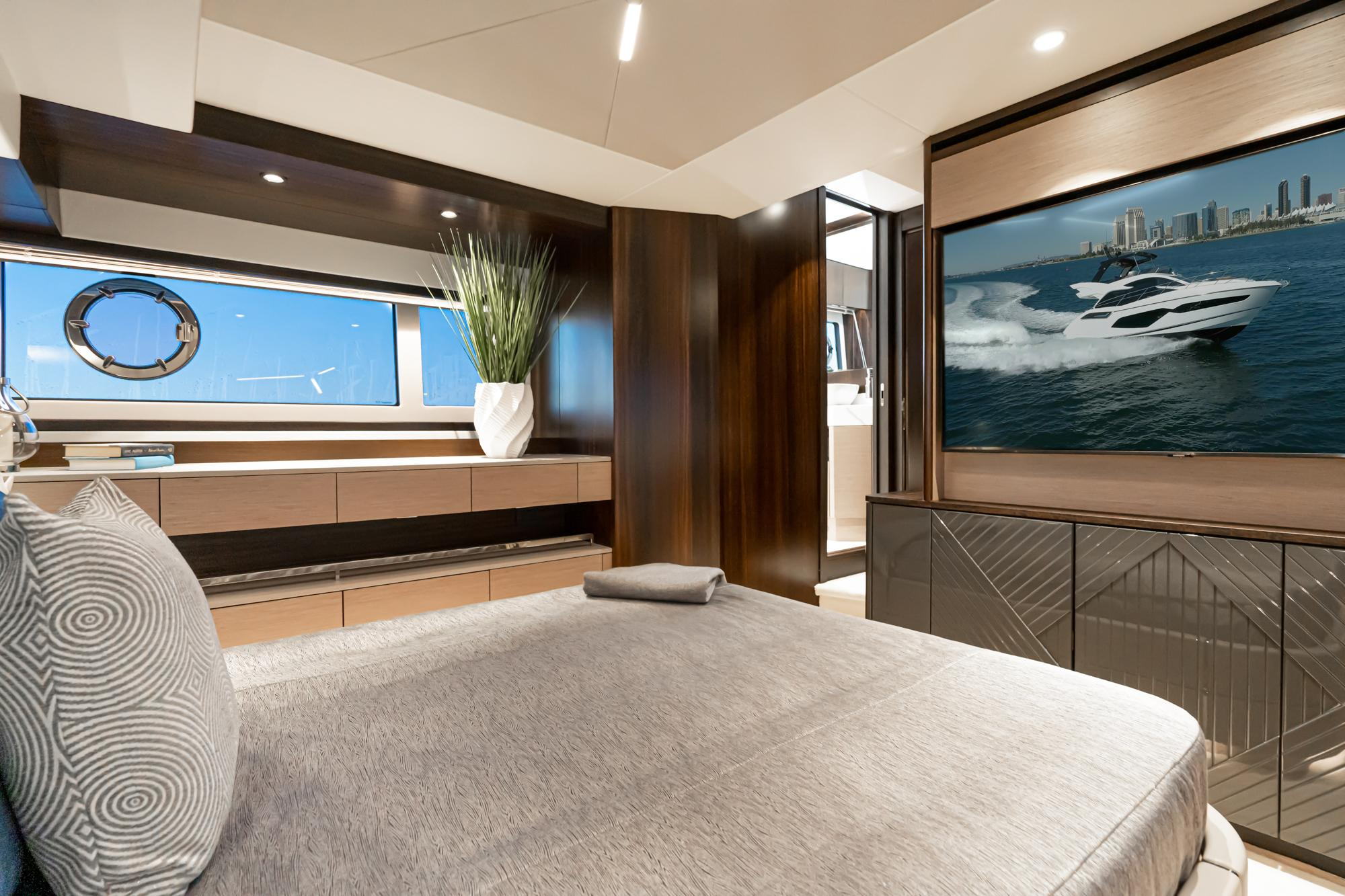 2021 Sunseeker Manhattan 55 #SS304 inventory image at Sun Country Yachts in Newport Beach