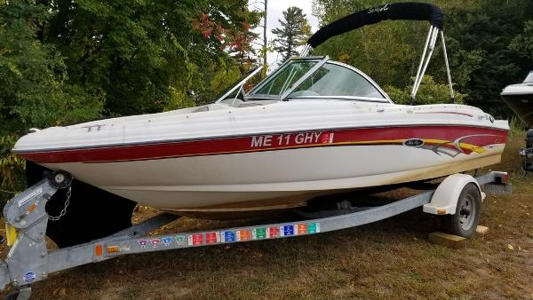 2003 Sea Ray boat for sale, model of the boat is 17' BR & Image # 13 of 16