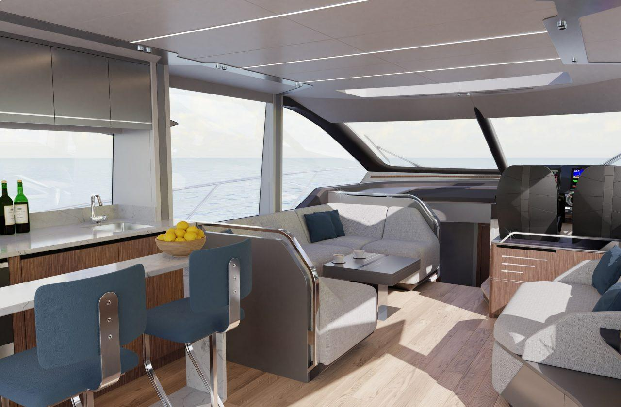 2022 Sunseeker 65 Sport Yacht #SS422 inventory image at Sun Country Coastal in Dana Point