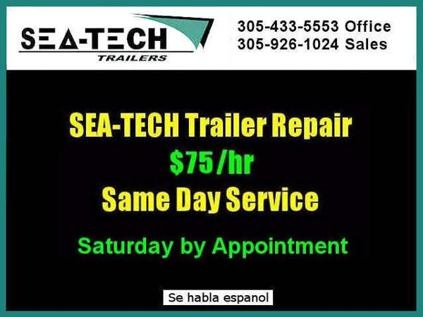 2021 SEA TECH offers SAME DAY SERVICE