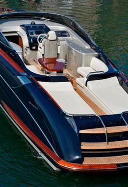 2010 Riva 44 Rivarama - Cockpit