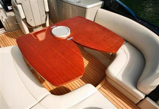 2010 Riva 44 Rivarama - Cockpit Table