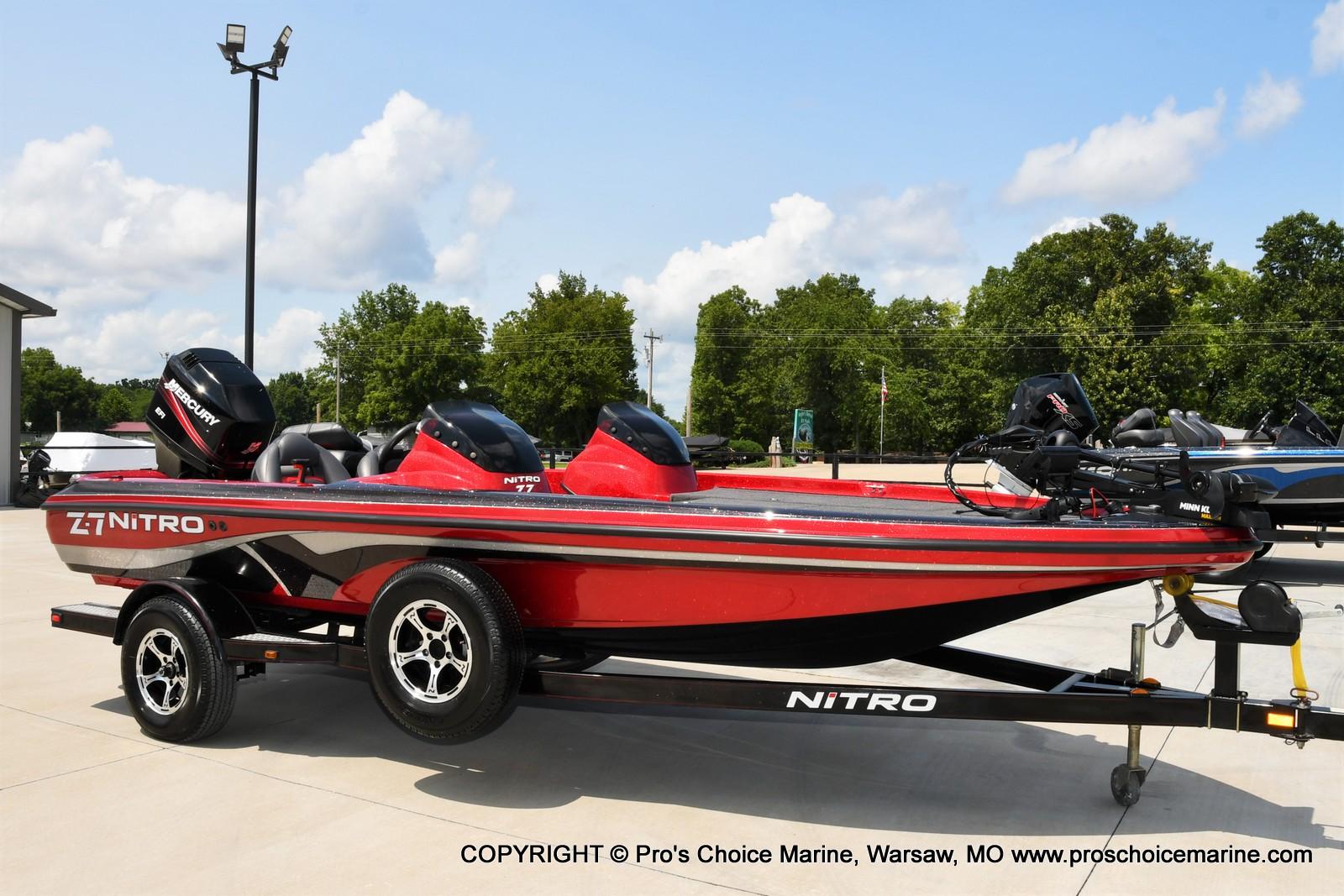 2009 Nitro boat for sale, model of the boat is Z-7 & Image # 1 of 50