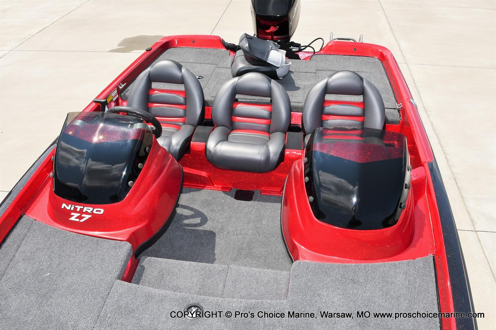 2009 Nitro boat for sale, model of the boat is Z-7 & Image # 11 of 50